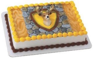 Deer Head Cake Decoration Birthday Cake Topper
