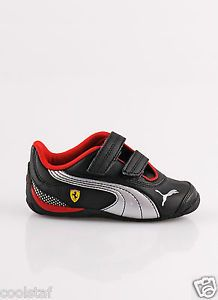 Puma Cat Ferrari Drift Cat III Boys Toddler Leather Kids Shoes Sneakers Size 10