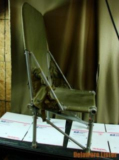 Huey Military Vietnam Helicopter Crew Troop Folding Seat RARE