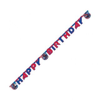 The Amazing Spiderman Party Happy Birthday Card Letter Banner 2 3 M Long