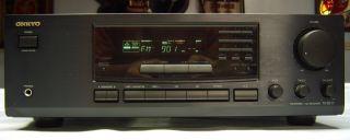 Onkyo TX 8211 180 Watt Am FM Stereo Receiver Works Looks Great