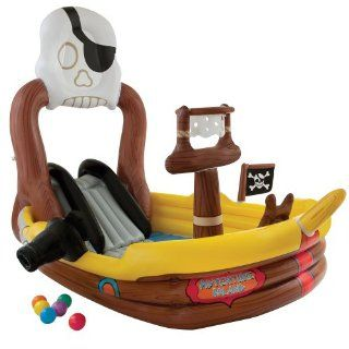 New Complete Pirate's Adventure SHIP Play Pool Center Summer Cool Kid's Water