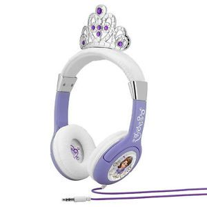Princess Sofia The First Sophia Headphones Headsets New