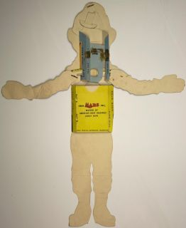 Original Mars Candy's Howdy Doody Animated Puppet CA 1950's Mail Away Gift