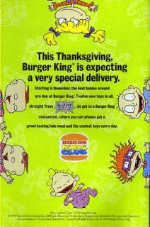 Rugrats Watch Burger King