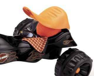New Fisher Price Harley Davidson Kids Tricycle Childrens Motorcycle Trike Toy