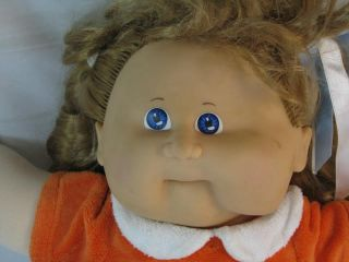 Vintage 80s Large Talking Cabbage Patch Kids RARE Doll