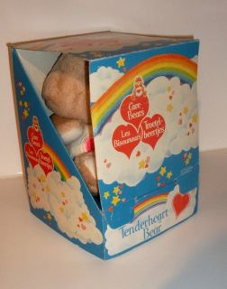 "1980's Care Bears 13"" Tenderheart Bear Boxed CB2"
