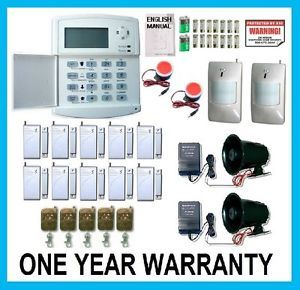 Wireless Home Security System House Alarm Auto Dialer B
