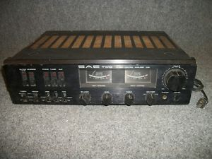 SAE Model C3A Home Audio Two Stereo Control Integrated Amplifier Tested Working