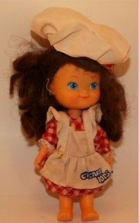 Vintage Cupcake Kids Doll Cherry Merry Muffin Strawberry Shortcake Chef Cooking