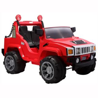 Ride on Jeep 2 Seater Hummer 12V Electric Battery Operated Car for Boys Girls