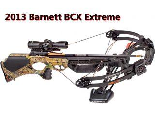 2013 Barnett Crossbows BCX Buck Commander Extreme CRT 365 FPS 78240 Xtreme