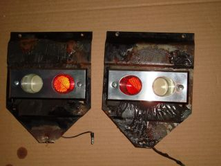 1963 64 Ford Galaxie XL Door Lights with Housings 1964 63 1962 62