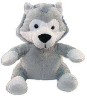 """Wolf Plush Toy 6"""" Stuffed Animal"""