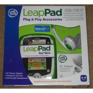 LeapFrog LeapPad Learning Tablet Plug Play Accessories Green Gel Skin A