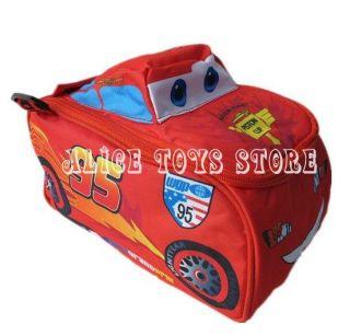 Disney Pixar Cars The Lightning McQueen Children Red Lunch Box Bag for Kids