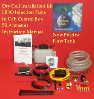 Best HHO Dry Cell Generator Installation Kit Our New Positive Flow 1qt Tank