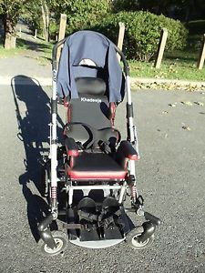 Otto Bock Spring Pediatric Special Needs Stroller Wheel Chair as Is Kimba Neo