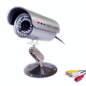 bunker hill security system night vision 2 cameras color