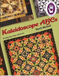 Kaleidoscope ABCs Marti Michell New Book Quilt Patterns Borders Mirror Design