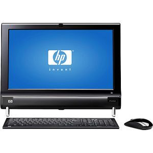 "HP TouchSmart 300 1003 PC w 20"" LCD Display and Windows 7 Home Premium"