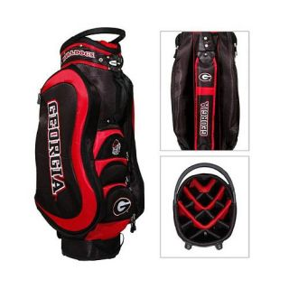 NCAA Georgia Bulldogs Medalist Cart Golf Bag Team Golf 637556211354