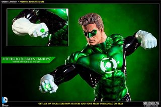 Sideshow Premium Format Green Lantern Figure Statue Le 355 of 1500 SEALED in Box
