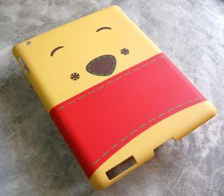 Winnie The Pooh iPad 2 Case Cover Original Walt Disney Smart Cover Back Skin