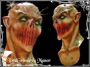 Deadly Silence Alien Latex Halloween Mask Prop Horror Monster