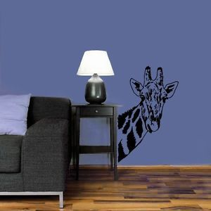 Housewares Interior Decor Wall Decal Vinyl Sticker African Wild Giraffe Room