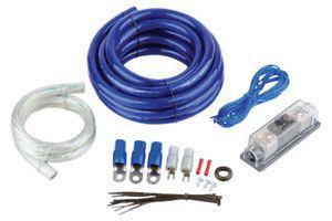0 Gauge Car Amp Kit 4000 Watt Power Wire Wiring Install Amplifier Wiring Audio