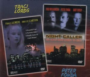 Laser Moon Night Caller Sexy Traci Lord New 2 Film DVD 625282602096