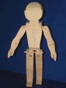 Judy Brown Hitty Wood Block Doll Carver's Classic Instructional Video