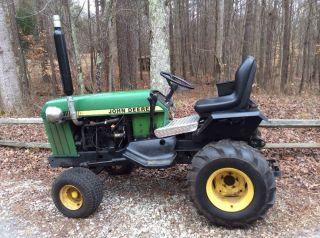 John Deere Lawn Garden Tractor Model 430