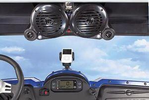 Polaris RZR Plug Play iPod  Stereo Speaker Sound System