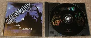 Minotaur Power of Darkness ORG No Colours 98 CD Sodom Kreator Death Sadus Exodus