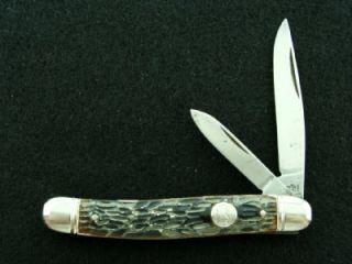 Vintage Imperial USA Pocket Serpentine Jack Knife Hunting Fishing Knives Tools