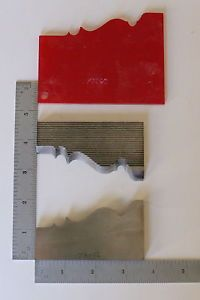 Corrugated Back Moulder Molder Planer Shaper Profile Knives Wood Tools