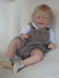 Baby Dust Nursery Reborn Doll Jade by Romie Strydom Peeky Eyes