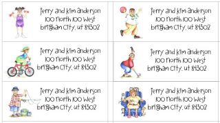 Personalized Senior Citizen Address Labels