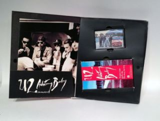 U2 Achtung Baby Solicitation Kit Promo Island Records Bono The Edge Rare