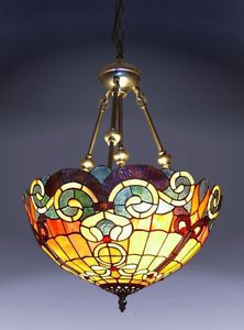 New Tiffany Style Baroque Hanging Lamp Stained Glass Lamp Tiffany Lighting