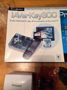 Avermedia Iaverkey 300AAAGL ENG03 Prodv Plug Play Computer to TV Converter