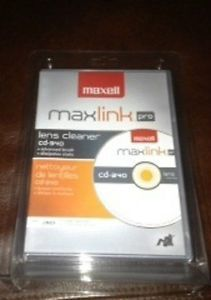 Maxell CD 340 CD Laser Lens Cleaner for CD DVD Player Xbox PlayStation 2 PS2