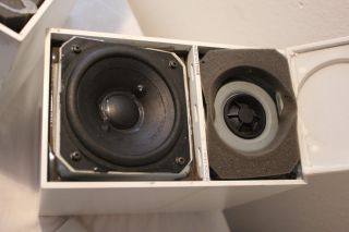 Bang Olufsen Speakers Beovox CX50 Vtg B O Space Age