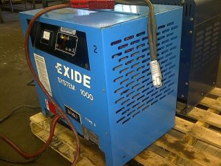 Exide 24V Forklift Battery Charger 1 Ph