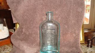 "Antique Medicine Elixir Bottle ""Fellow's Syrup of Hypophosphites"""