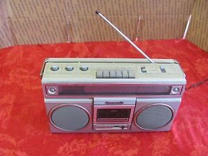 Panasonic RX 5010 Boombox Ghetto Blaster Vintage Radio Cassette Player