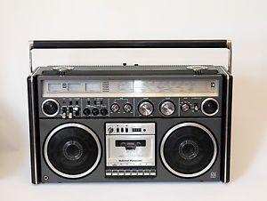 National Panasonic RS 4360 DFT Ghettoblaster Boombox Radio Cassette Recorder